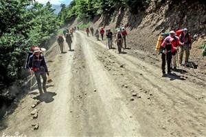 نجات 2 کوهنورد گم شده در کوه های عسلویه