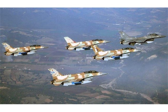 جنگنده رژیم صهیونیستی نقض حریم هوایی لبنان
