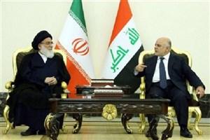 دیدار آیت الله هاشمی شاهرودی با نخست وزیر عراق