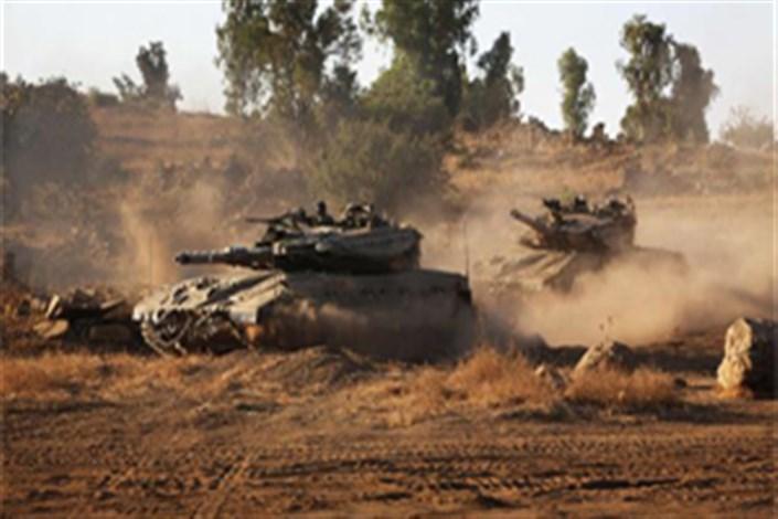 تمرین نظامی رژیم صهیونیستی