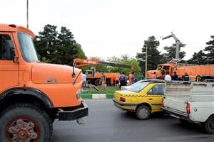 تردد کامیون در ۲ منطقه تهران برای  طرحهای شبانه است