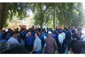 تجمع بازنشستگان هوانیروز مقابل نهاد ریاست جمهوری