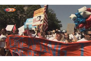 تظاهرات اعتراض آمیز داکا در امریکا