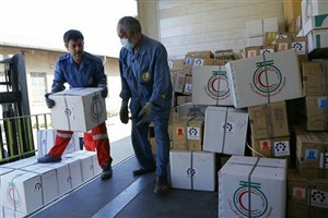 کمک های جمعیت هلال احمر آماده ارسال به میانمار