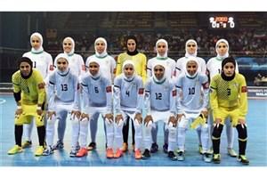 برگزاری اردوی تیم ملی فوتسال بانوان با بازیکنان جدید