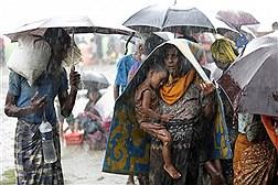فرار پناهجویان روهینگیا از خشونت میانمار