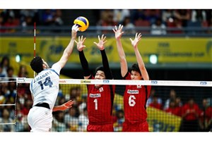 پیروزی  والیبال ایران در نبرد آسیاییها/ یک گام تا نخستین سکوی جهانی
