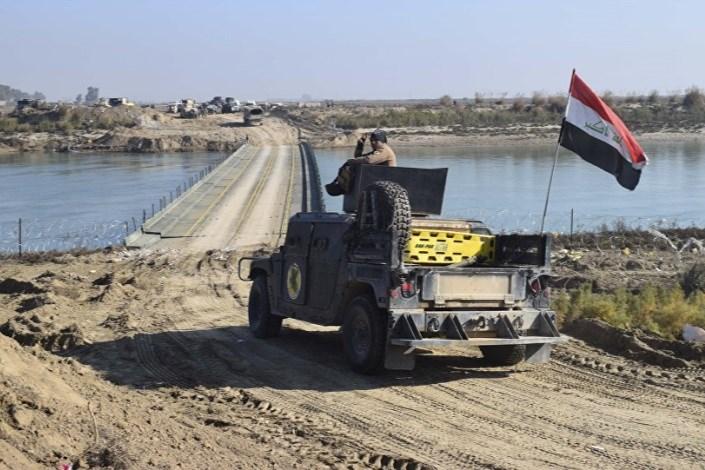 ارتش عراق در مرز مشترک با سوریه