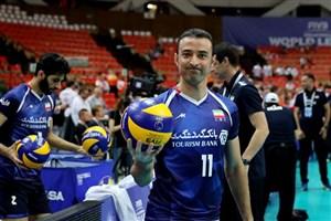 نظری افشار رسماً از تیم ملی والیبال خداحافظی کرد