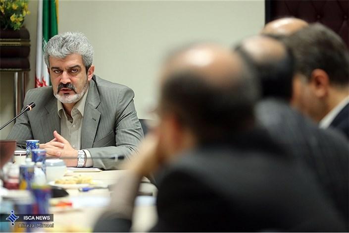 مراسم معارفه آقای شاهانی سرپرست مرکز سنجش و پذیرش دانشگاه آزاد اسلامی