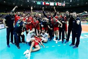 تیم ملی والیبال ایران راهی تهران شد