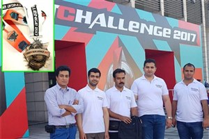 Khomeyni Shahr IAU Robotic Team Ranks 3rd at RobotChallenge 2017