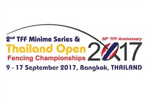 Rasht IAU Fencer Shines at Thailand Open Fencing C'ships 2017