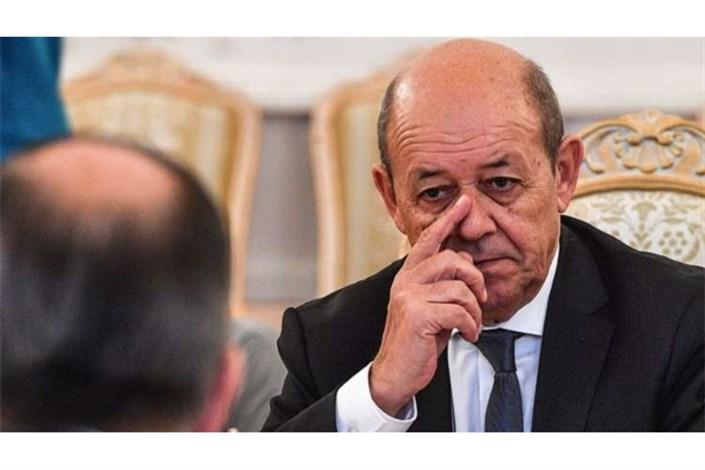 ژان ایو لودریان وزیرخارجه فرانسه