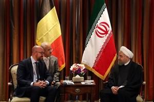 استقبال از حضور شرکتهای بلژیکی برای سرمایه گذاری و یا فعالیت های مشترک در ایران