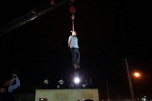 تصاویری از اعدام قاتل آتنا اصلانی