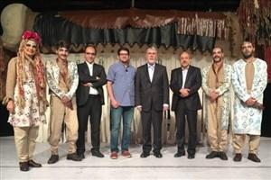 وزیر فرهنگ و ارشاد اسلامی بلیت خرید و تئاتر دید
