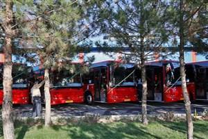 فعالیت اتوبوس های تازه نفس در سطح شهر