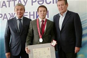 تنگیزبایف قزاق صاحب مدال نقره المپیک 2008 پکن شد