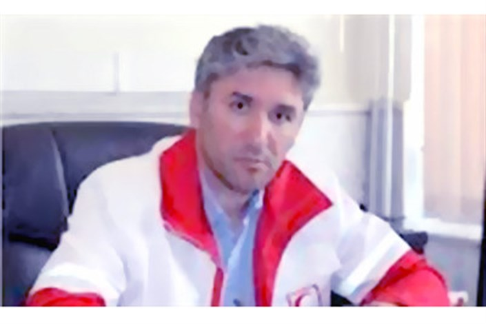 عزیز ارشادیان معاون امداد ونجات جمعیت هلال احمر استان اردبیل