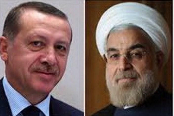 گفتگوی تلفنی اردوغان و روحانی درباره عفرین و ادلب
