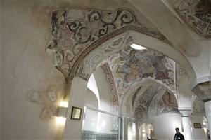 حمام مهدیقلیبیک۴۱۲ ساله وقفی با ۱۳ لایه نقاشی