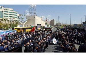 برپایی مراسم سوگواری و هیئت عزاداری در دانشگاه آزاد اسلامی+تصاویر