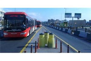 مناسب سازی ایستگاههای اتوبوس برای معلولان و نابینایان در شرق تهران