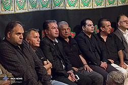 مراسم عزاداری امام حسین(ع) در باشگاه سایپا