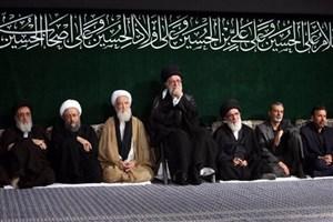 مراسم عزاداری حضرت اباعبدالله الحسین علیهالسلام برگزار شد