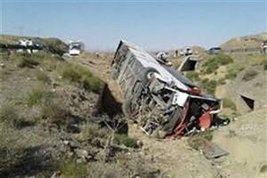 واژگونی تانکر گازوئیل در محور یزد- اشکذر