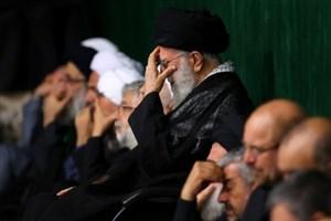 مراسم عزاداری شام غریبان اباعبدالله با حضور رهبر انقلاب برگزار شد