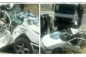 تصادف پراید و سمند در شرق تهران، ٢ کشته به جای گذاشت