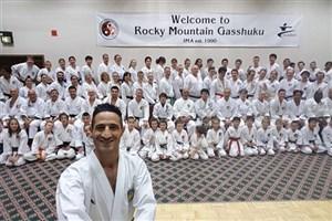 سعید احمدی کلاس آموزشی کاراته را در آمریکا برگزار کرد/ با حضور سیروس مدنی داور جهانی