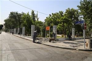 اتمام فاز اول پیرایش شهری محور وحدت اسلامی از میدان حسن آباد تا میدان وحدت