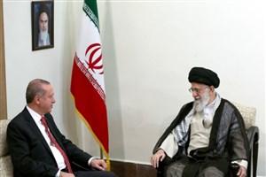 رجب طیب اردوغان با رهبر انقلاب دیدار کرد