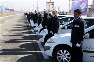 آماده باش سراسری ماموران پلیس راهور ناجا در مسیرهای منتهی به مرزهای مهران، شلمچه، چزابه و خسروی