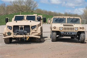 زیر گرفته شدن گروهی از نظامیان آمریکایی توسط یک خودرو
