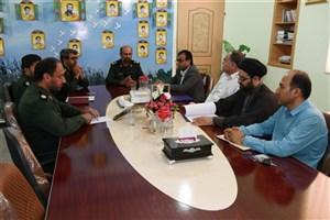 دانشگاه آزاد اسلامی و سپاه لامرد تفاهم نامه امضا کردند
