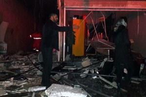 دو مصدوم بر اثر انفجار در شهرک صنعتی ضیاءآباد
