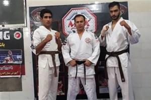 سه دانشجوی واحد میانه در مسابقات بینالمللی کاراته جام شهرداری تبریز قهرمان شدند