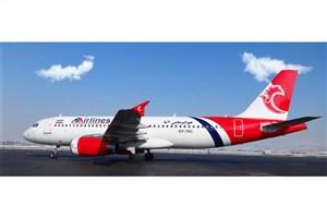 پرواز اختصاصی تیم ملی فوتبال با هواپیمای شرکت آتا + عکس