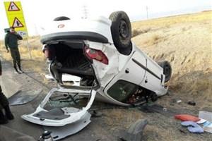 واژگونی پژو ۴۰۵، سه کشته و 3 زخمی برجای گذاشت