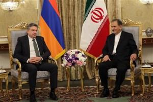 سه یادداشت تفاهم همکاری میان ایران و ارمنستان امضا شد