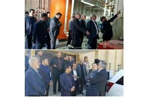 بازدید معاون دانشجویی فرهنگی وزارت بهداشت از خوابگاه های دانشجویی دانشگاه علوم پزشکی شهرکرد