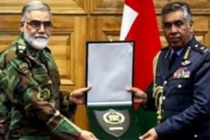 فرمانده نیروی هوایی عمان با امیر پوردستان دیدار و گفتوگو کرد