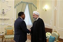 دیدار وزیر خارجه تانزانیا با دکتر روحانی