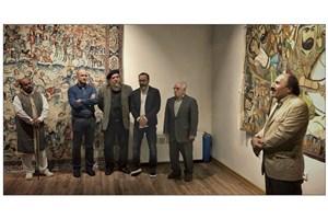 دو پرده قلمکار برای  نخستین باردر گالری آس به نمایش درآمد