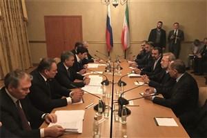 لاریجانی با رئیس مجلس دومای روسیه دیدار و گفتگو کرد