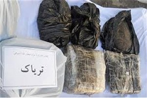 قاچاقچی سابقه دار ۸۵ گرم تریاک بسته بندی شده را قورت داد
